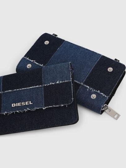 Diesel - DUPLET LCLT, Blue - Zip-Round Wallets - Image 5