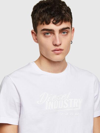 Diesel - T-DIEGOS-K45, White - T-Shirts - Image 3