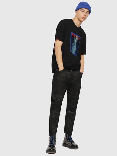 Diesel - Shibuia JoggJeans 069CQ, Black/Dark Grey - Jeans - Image 6