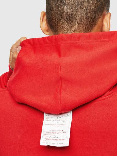 Diesel - S-ALBY-YA, Red - Sweatshirts - Image 7