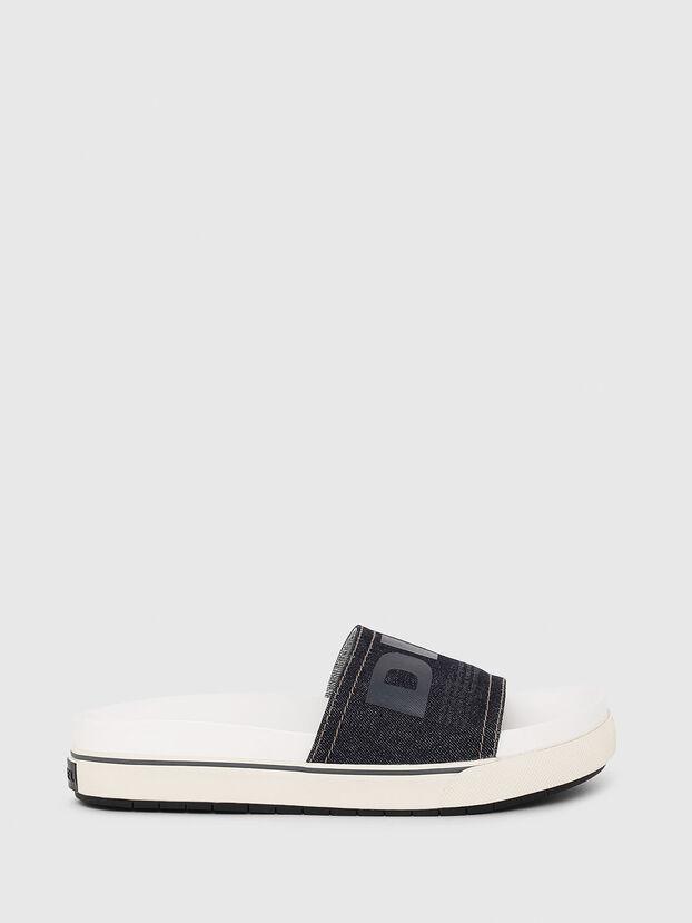 SA-GRAND SLIDE W, White/Blue - Sandals