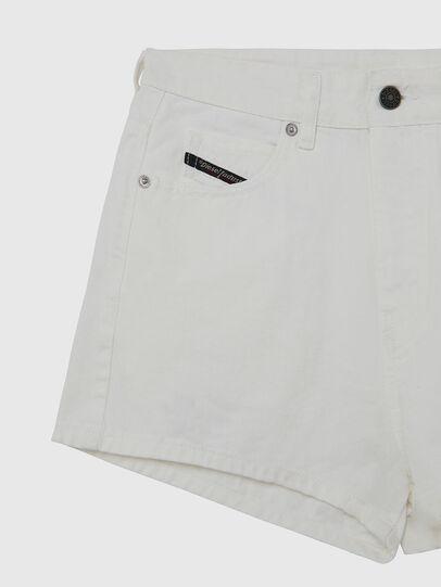 Diesel - D-ISI-SHORT, White - Shorts - Image 3