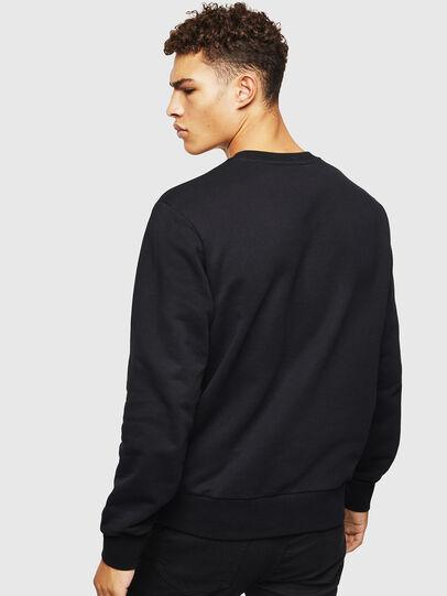 Diesel - S-CORY, Black - Sweatshirts - Image 2
