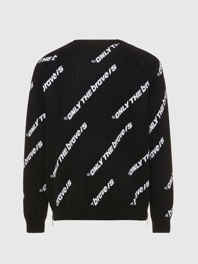 Diesel - K-DAVIS, Black - Sweaters - Image 2
