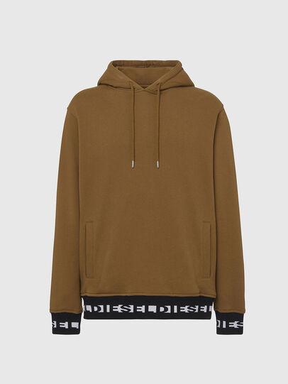 Diesel - UMLT-BRANDON, Light Brown - Sweatshirts - Image 1