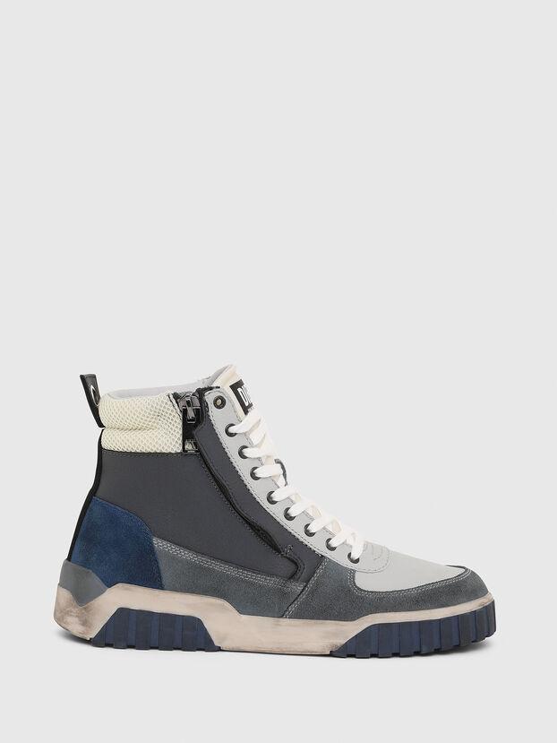 S-RUA MID, Grey - Sneakers