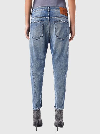 Diesel - Fayza Boyfriend Jeans 09B16, Light Blue - Jeans - Image 2
