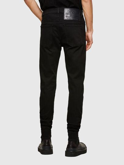 Diesel - D-Istort Skinny Jeans 069TI, Black/Dark Grey - Jeans - Image 2
