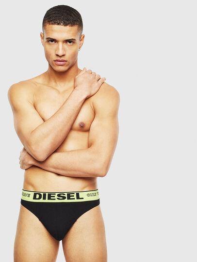Diesel - UMBR-STRING, Black - Briefs - Image 1