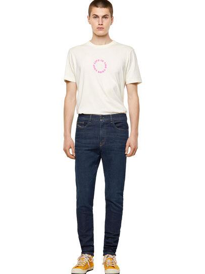 Diesel - D-Amny Skinny JoggJeans® Z69VI, Dark Blue - Jeans - Image 5
