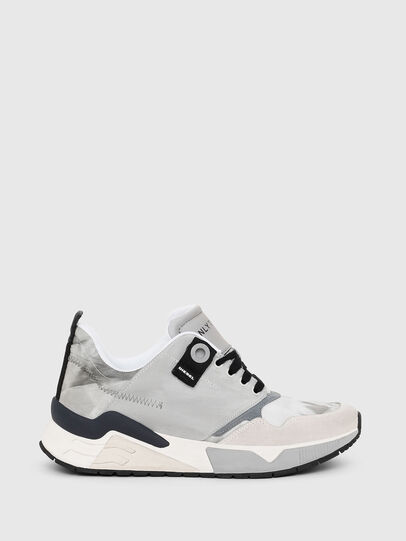 Diesel - S-BRENTHA LC, Light Grey - Sneakers - Image 1