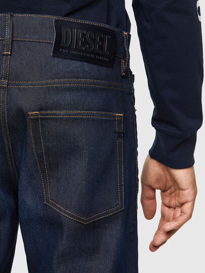 Diesel - D-Fining Tapered Jeans 09A45, Dark Blue - Jeans - Image 3