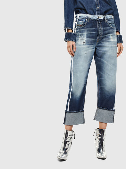 Diesel - D-Reggy 0096S, Medium Blue - Jeans - Image 1