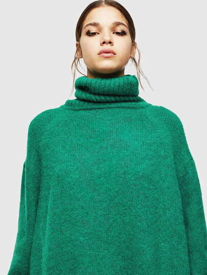 Diesel - M-PERSIA, Green/Red - Sweaters - Image 3