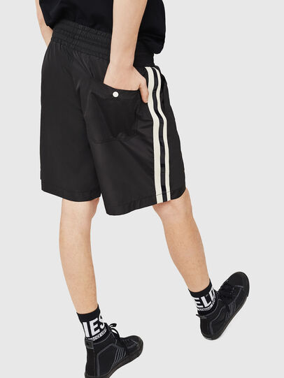 Diesel - P-BOXIE, Black/White - Shorts - Image 2