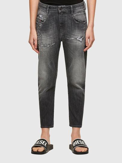 Diesel - Fayza JoggJeans® 009QT, Negro/Gris oscuro - Vaqueros - Image 1