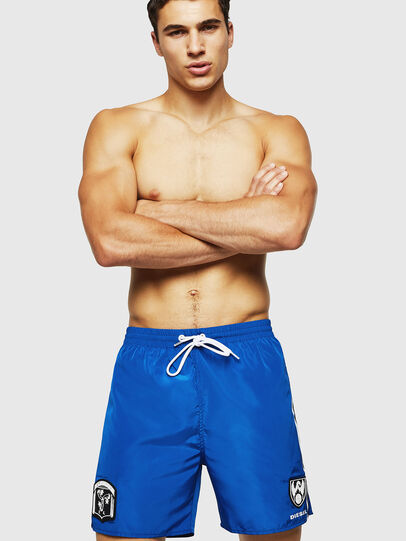 Diesel - BMBX-WAVENEW, Brilliant Blue - Swim shorts - Image 1