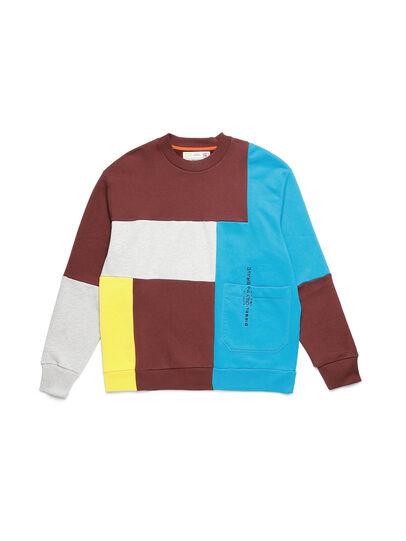 Diesel - D-TAGLIA&CUCI, Multicolor - Sweatshirts - Image 1