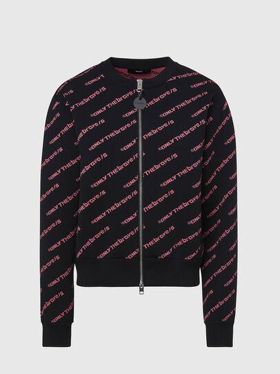 Diesel - M-OTTO, Black - Sweaters - Image 1
