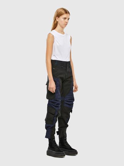 Diesel - D-Kiki JoggJeans® 009KM, Negro/Gris oscuro - Vaqueros - Image 8