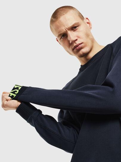 Diesel - S-KOBLER, Dark Blue - Sweatshirts - Image 3
