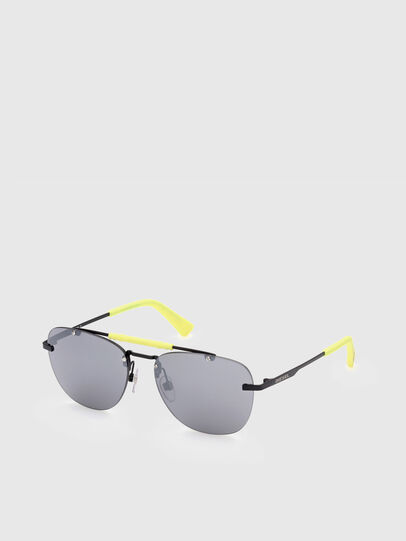 Diesel - DL0340, Black/Yellow - Sunglasses - Image 2