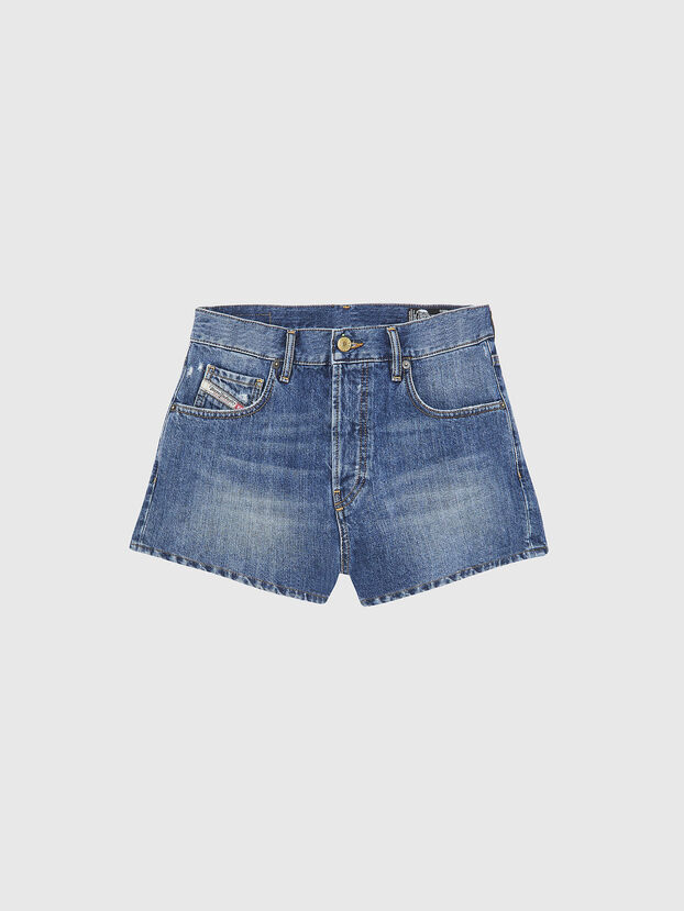 D-BOY-SHORT, Medium Blue - Shorts
