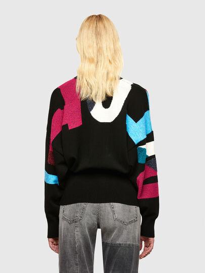 Diesel - M-MYSTIC, Black - Sweaters - Image 2