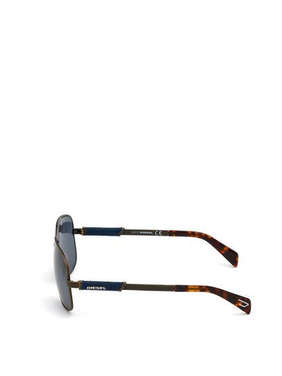 Diesel - DL0088, Brown - Sunglasses - Image 4