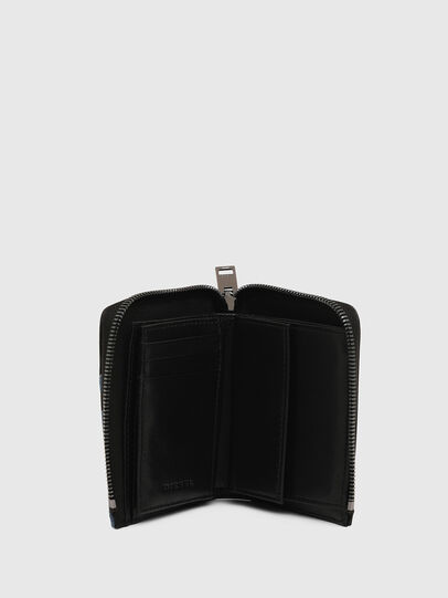 Diesel - L-12 ZIP, Black/Blue - Small Wallets - Image 3