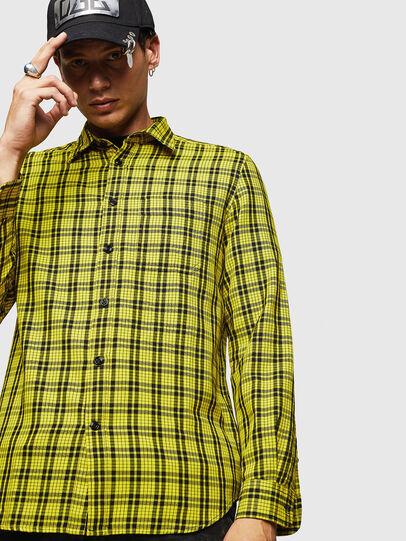 Diesel - S-TROPP, Yellow - Shirts - Image 4