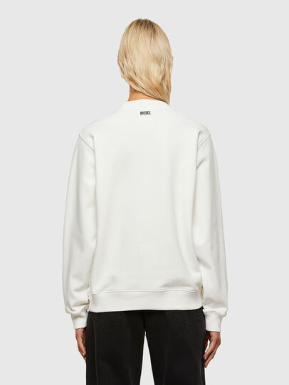 Diesel - F-ANG-R10, White - Sweatshirts - Image 2