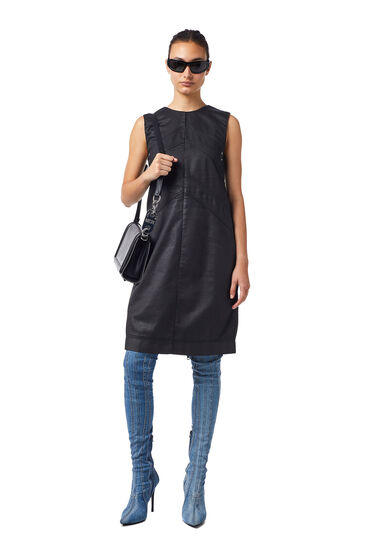 Shift dress in coated JoggJeans®