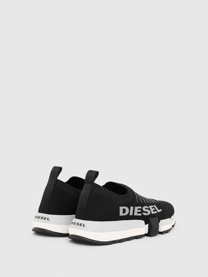 Diesel - H-PADOLA LOW SOCK W, Black - Sneakers - Image 3