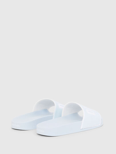 Diesel - SA-VALLA W, Light Blue - Slippers - Image 3