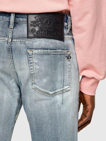 Diesel - D-Strukt Slim Jeans 009UI, Light Blue - Jeans - Image 4