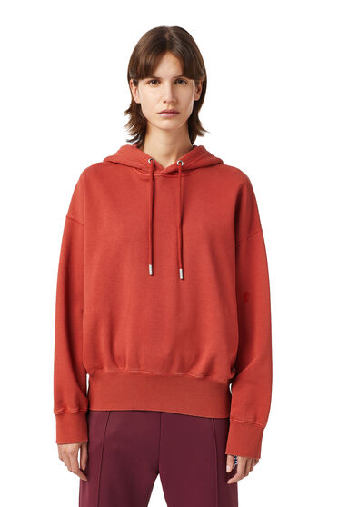 Hoodie with tonal embroidery