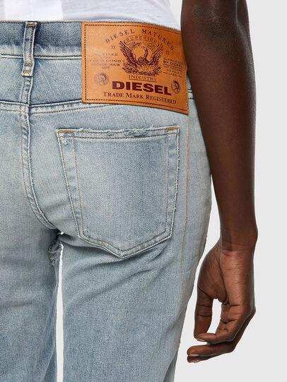 Diesel - D-Ebbey Bootcut Jeans 09A04, Light Blue - Jeans - Image 3