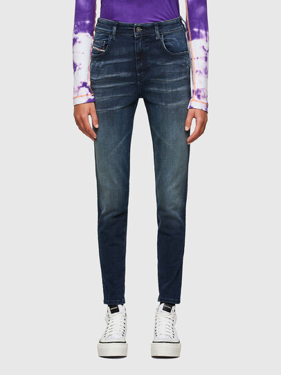 Diesel - Slandy High 009JH, Dark Blue - Jeans - Image 1