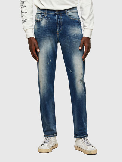Diesel - D-Fining Tapered Jeans 009RS, Dark Blue - Jeans - Image 1