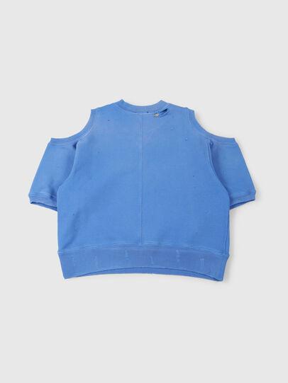 Diesel - SFADAM MC, Azure - Sweatshirts - Image 2