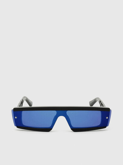 Diesel - DL0318, Black/Blue - Sunglasses - Image 1