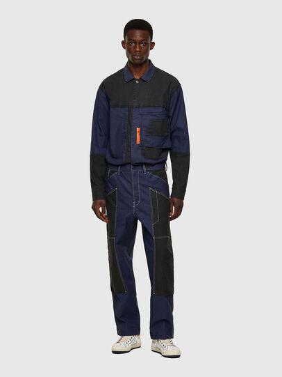 Diesel - D-Franky JoggJeans® 0EEAW, Azul Oscuro - Vaqueros - Image 5