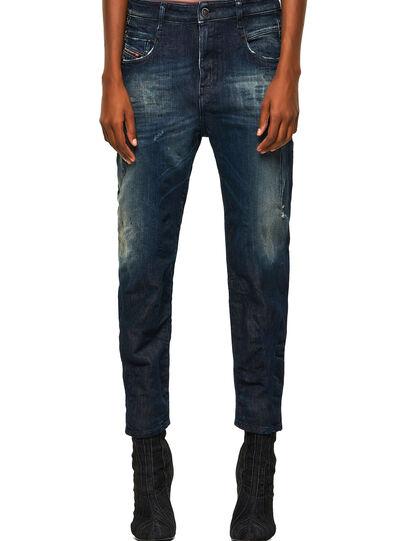 Diesel - Fayza Boyfriend JoggJeans® 09B50, Dark Blue - Jeans - Image 1