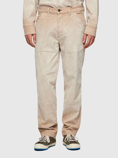 Diesel - D-Azerr Straight JoggJeans® 069WG, White - Jeans - Image 1