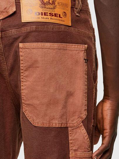Diesel - D-Franky JoggJeans® 0DDAW, Brown - Jeans - Image 4