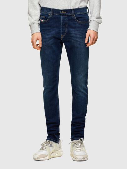 Diesel - D-Luster Slim Jeans 009ML, Dark Blue - Jeans - Image 1