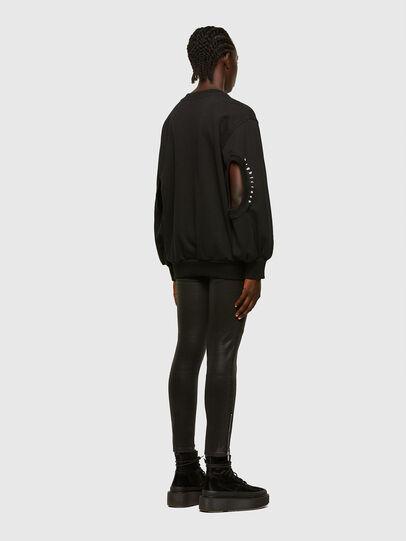 Diesel - F-CIONDY, Black - Sweatshirts - Image 5