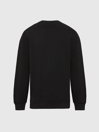 Diesel - S-GIRK-MOHI, Black - Sweatshirts - Image 2