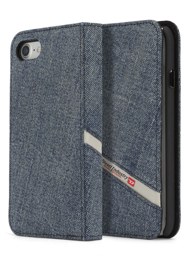 DENIM IPHONE 8 PLUS/7 PLUS FOLIO, Blue Jeans - Flip covers